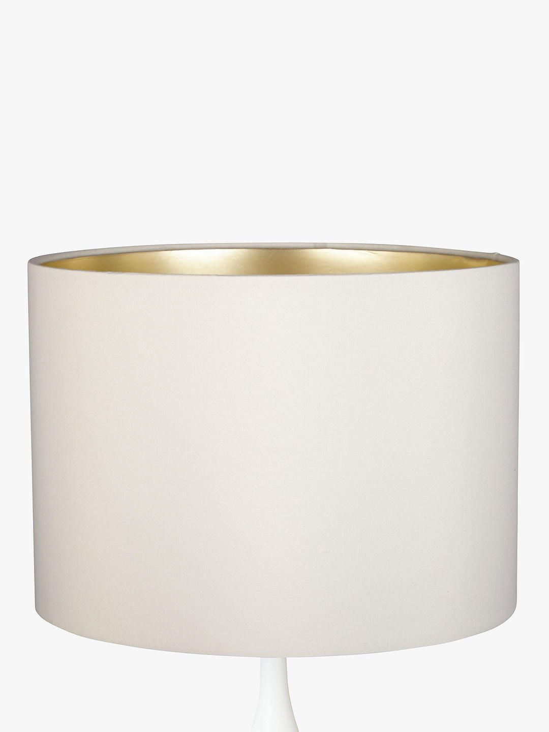 John Lewis Partners Cassie Lampshade Cream Champagne Stained Glasses Rawhide Lampshades Modern Lamp