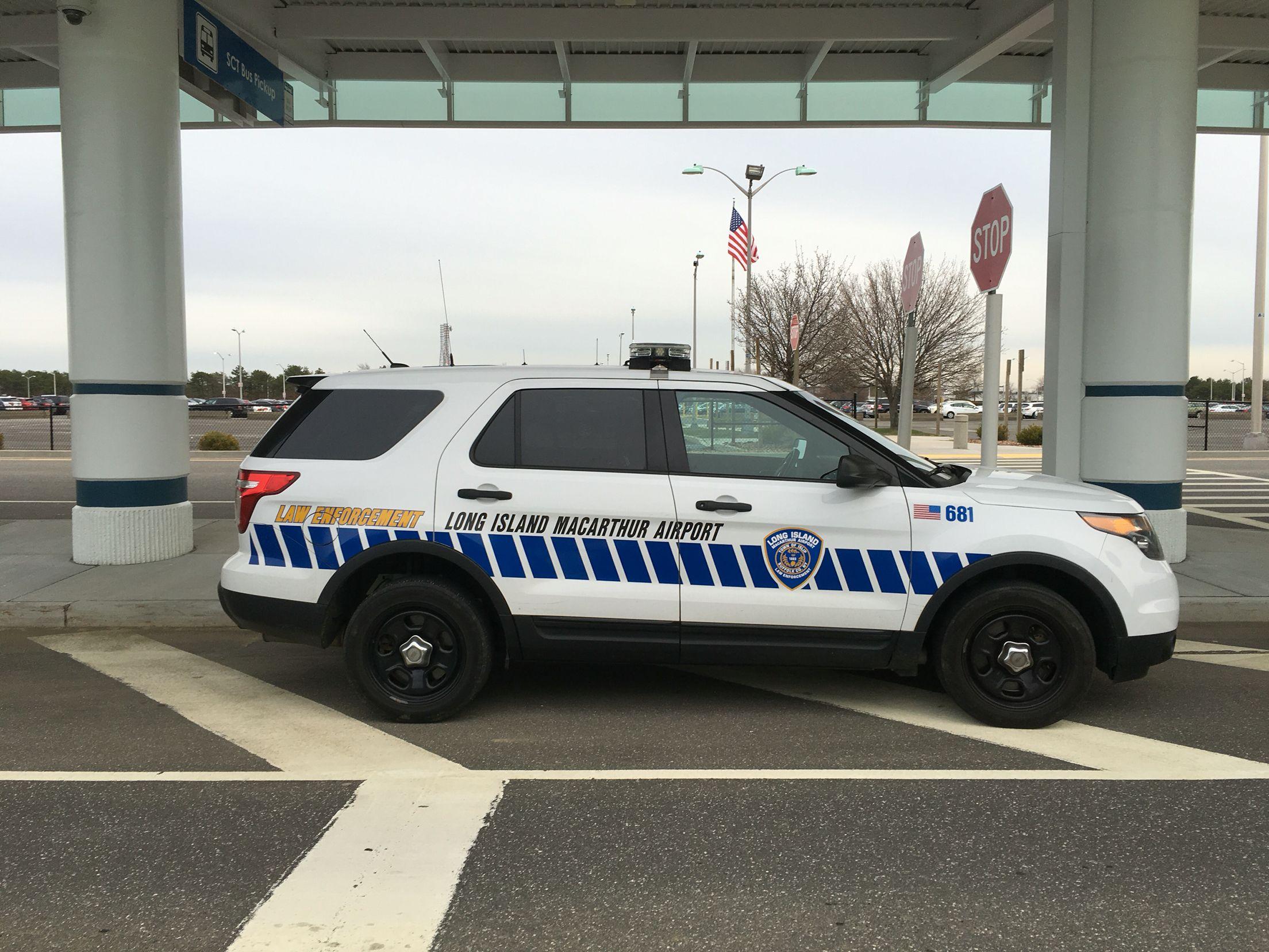 Long island macarthur airport police