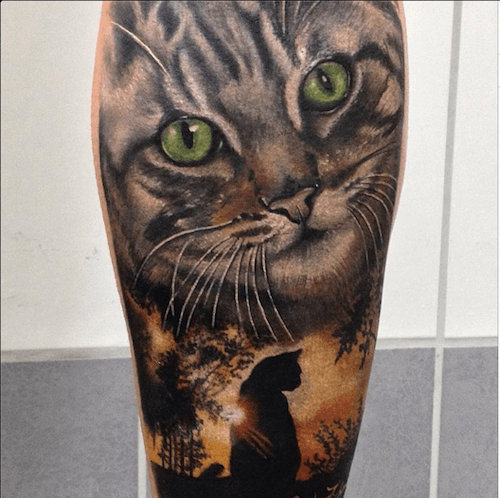 Tattoos by Andre Zechmann   Inked Magazine