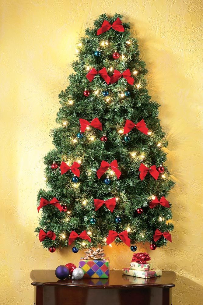 Product Page Wall Christmas Tree Hanging Christmas Tree Traditional Christmas Tree