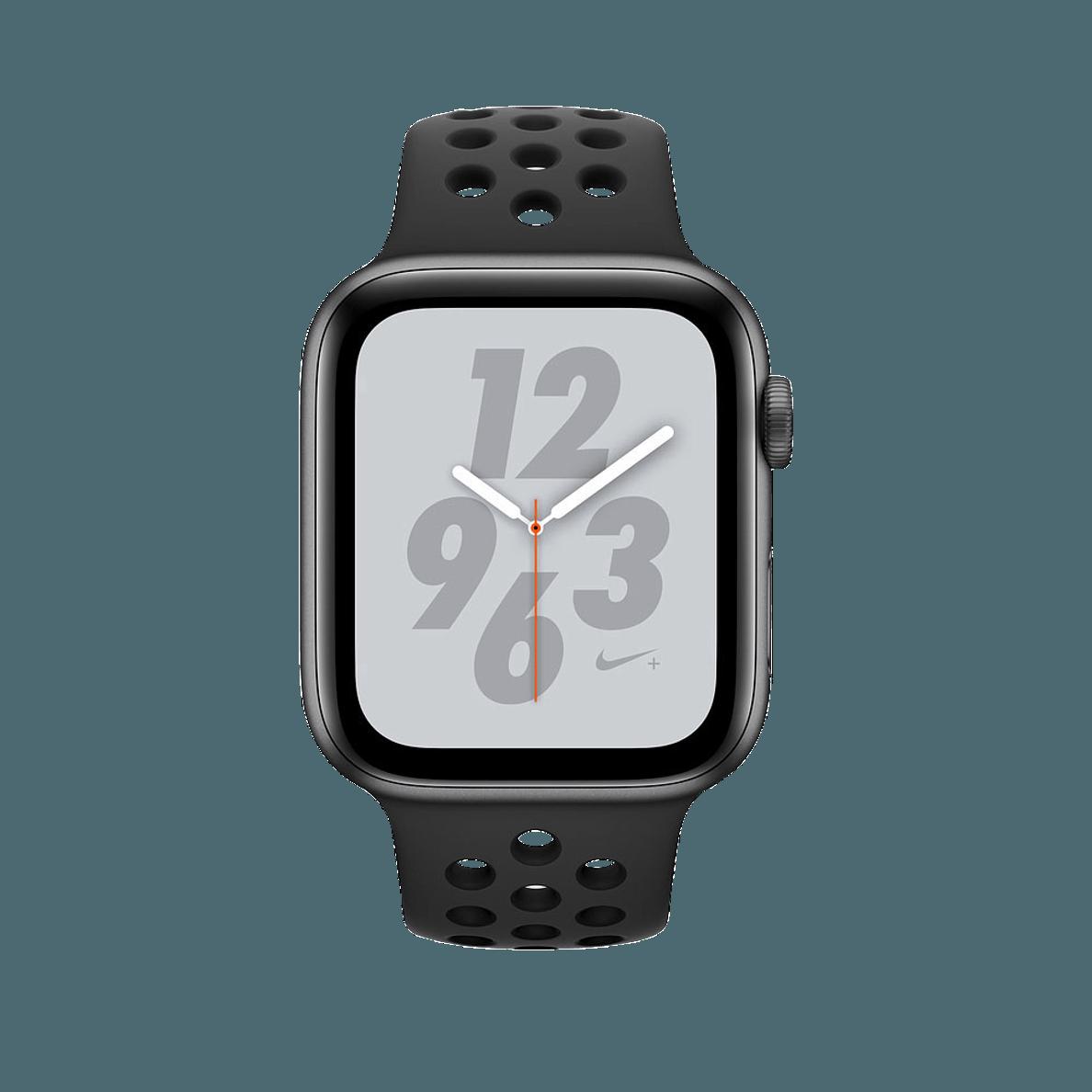 Apple Watch Series 4 Gps Cellular 44 Mm Smartwatch Kaufen Armband Kunststoff 145 220 Mm Farbe Armband Anthrazit Schwarz Smartwatch Gehause Apple Iphone 6