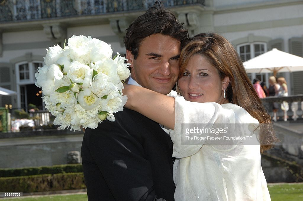 The Wedding Of Roger Federer And Mirka Vavrinec Photos And Premium High Res Pictures Roger Federer Rogers Mirka Federer