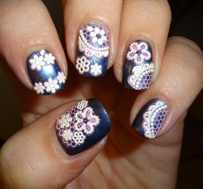 Wendys Delights: Tmart Lace Nail Art Stickers @Tmart.com