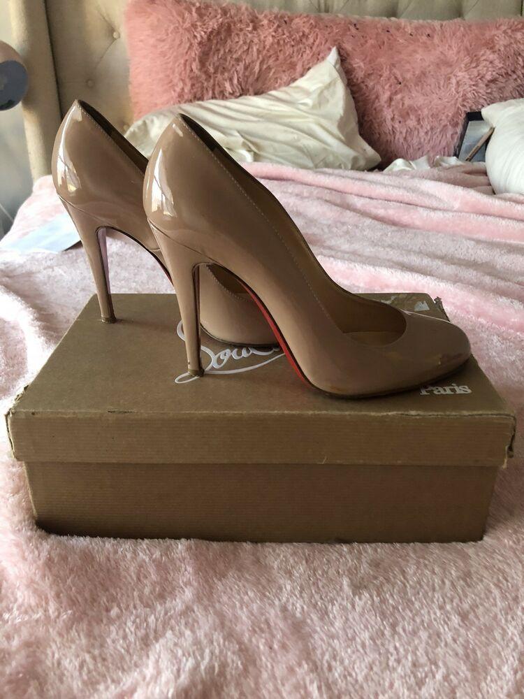 chaussures de sport 9b0ff 34700 Christian Louboutin Ron Ron 100 #fashion #clothing #shoes ...