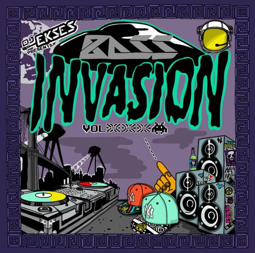Dj EKSES Presents: Bass Invasion Vol. 3 cover art by dEMOx