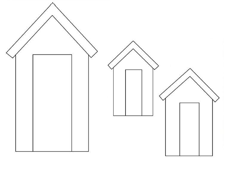 Beach Huts Printable Beach House Quilts Applique Templates Free Applique Patterns