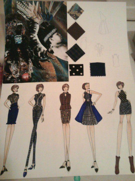 Fashion Storyboard 1 By Xkanna On Deviantart Storyboard Smoke