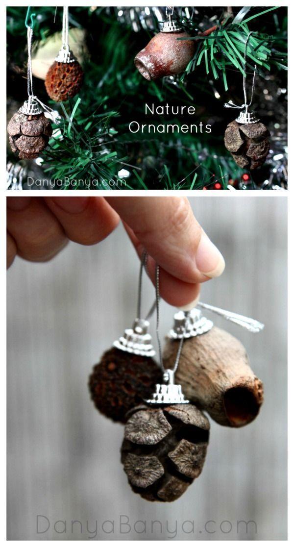 Natural Christmas Decorations To Make
