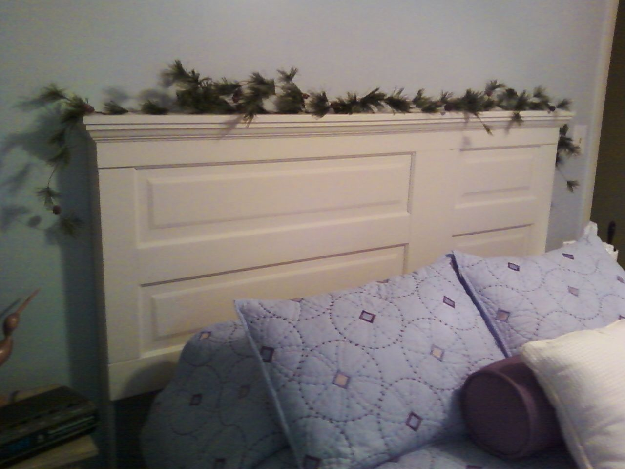 Queen Size Headboard From Old 6 Panel Door Made In The