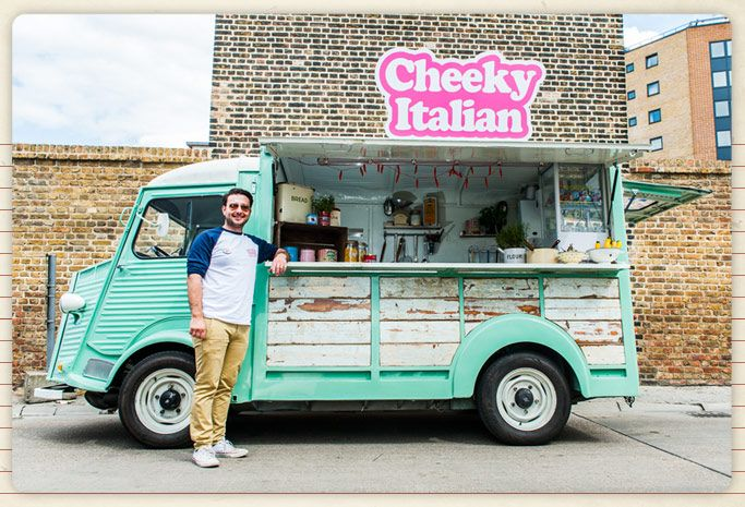 italian food truck in london