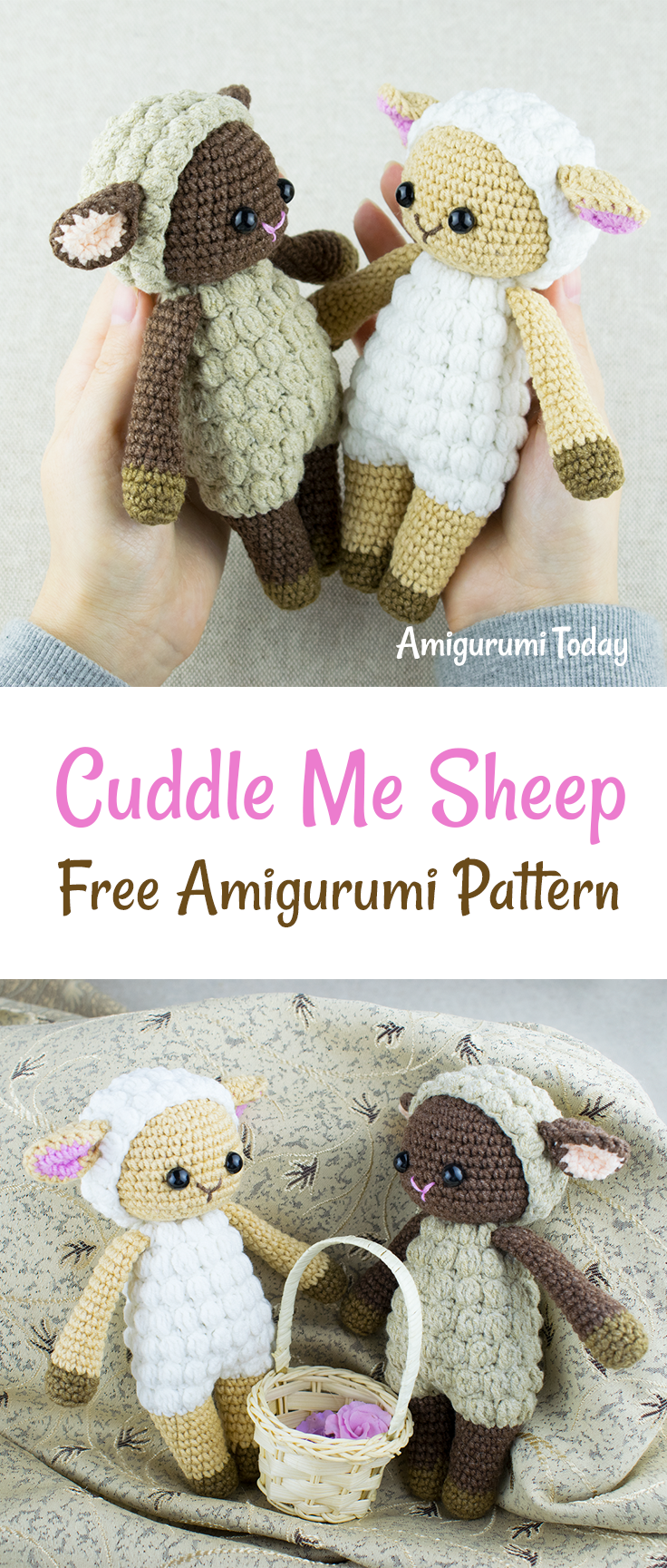 Cuddle Me Sheep amigurumi pattern | Patrones amigurumi, Patrones y ...