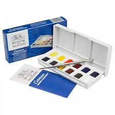 Winsor Newton Cotman Sketchers Pocket Box Watercolour Paint 12