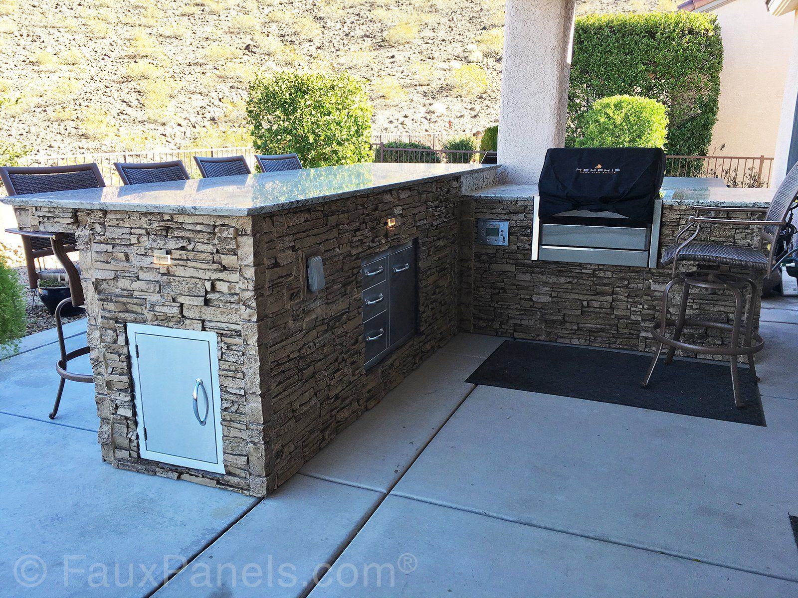 Commercial Amp Home Renovation Ideas Stone Siding Photos Outdoor Grill Station Outdoor Kitchen Patio Renovation