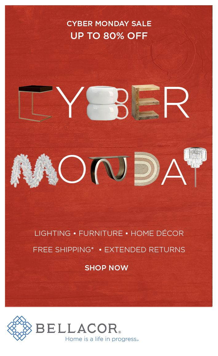 Cyber Monday Deals Continue At Bellacor Lighting Furniture Up To 80 Off And