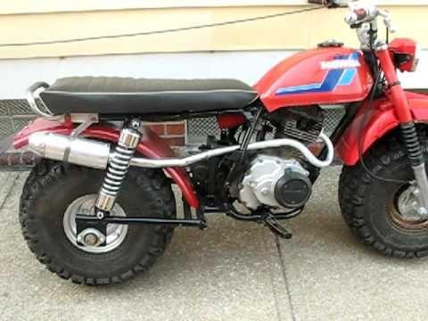 honda atc200 3 to 2 wheeler prototype, fat cat big wheel dirt bike
