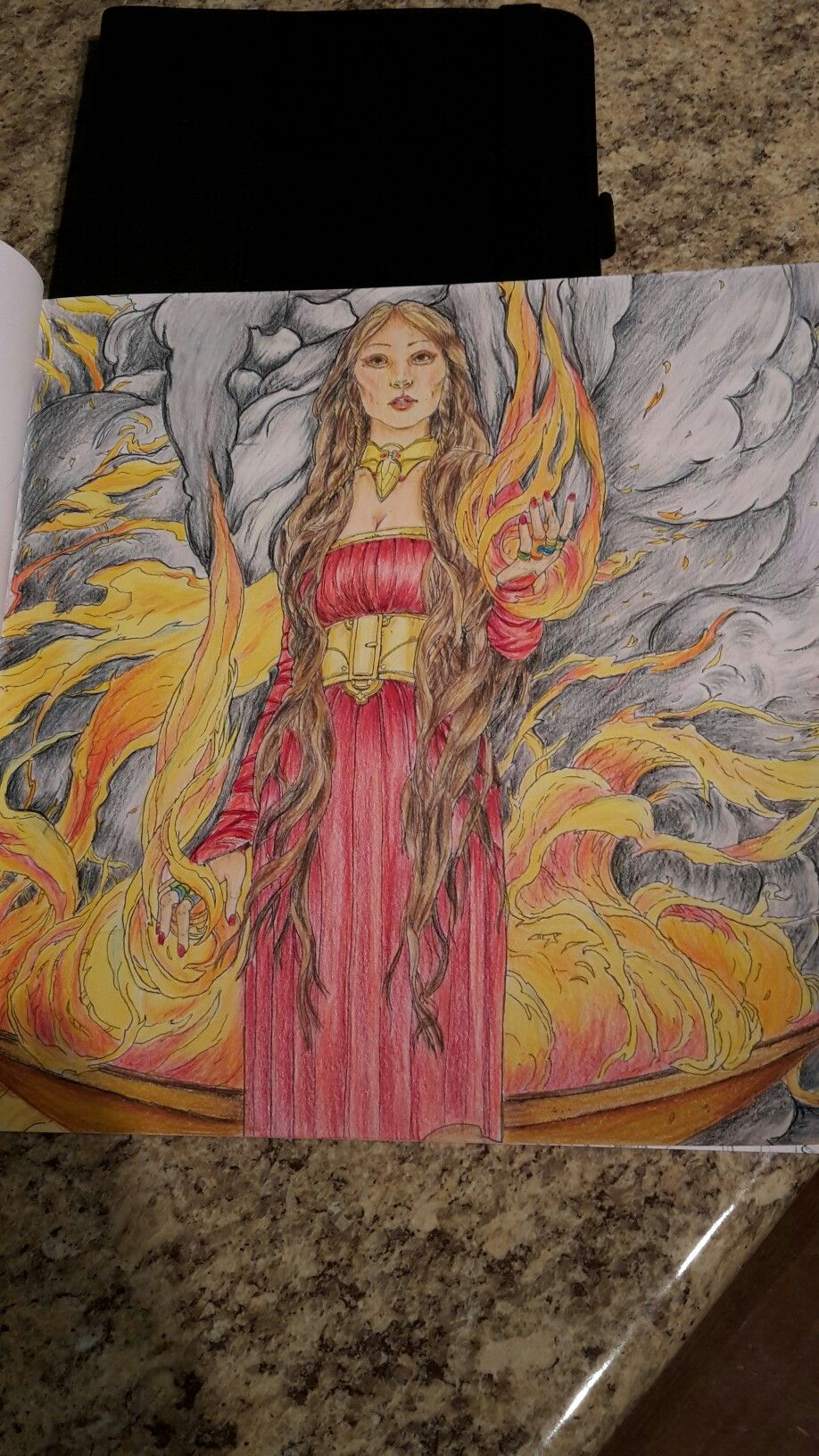 Prismacolour Pencils Game Of Thrones Colouring Book