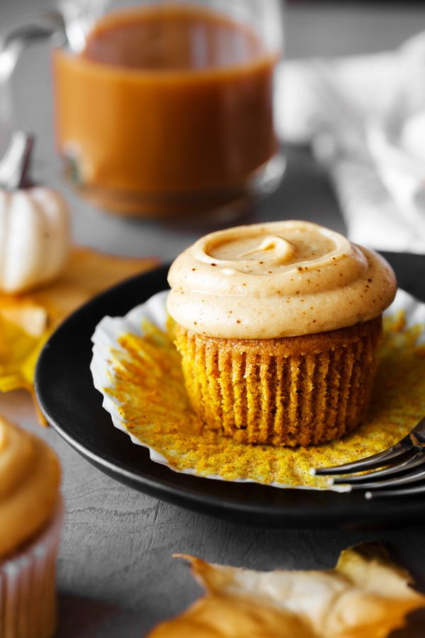 Pumpkin Spice Latte Cupcakes | The PKP Way #pumpkinspicecupcakes