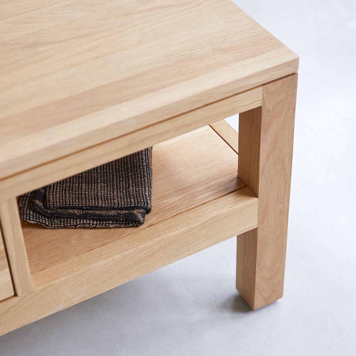 table basse chene