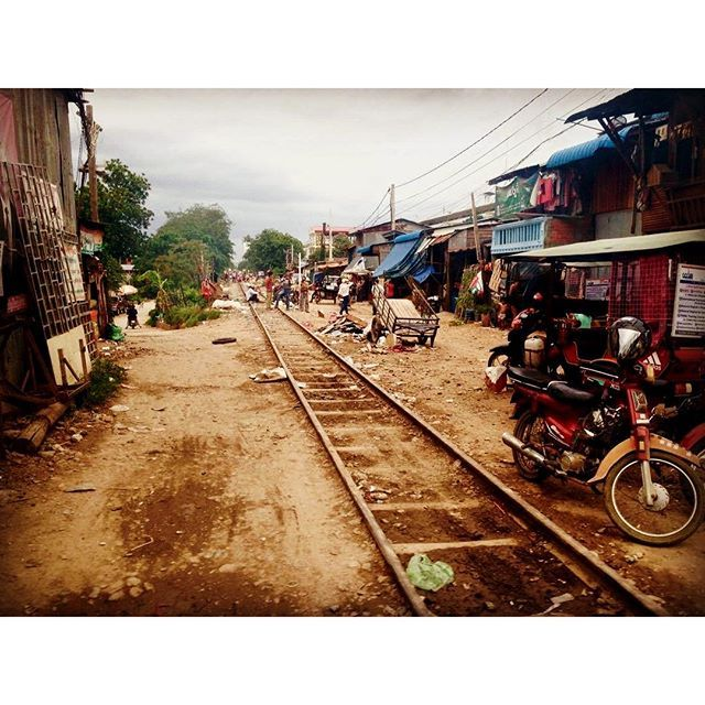 Today our posts are featuring #traintracks This is real life Cambodia, and people actually live here. Realise how lucky YOU are. ❤️ ... #trains #cambodia #phnompenh #live #poverty #mondaymotivation #monday #foodforthought #thoughtoftheday #backpacker #blogger #explore #culture #like4like #followme #wanderlust #instapic #instadaily #travelgram #travelblog #motivation #help #helpothers #volunteer #charity