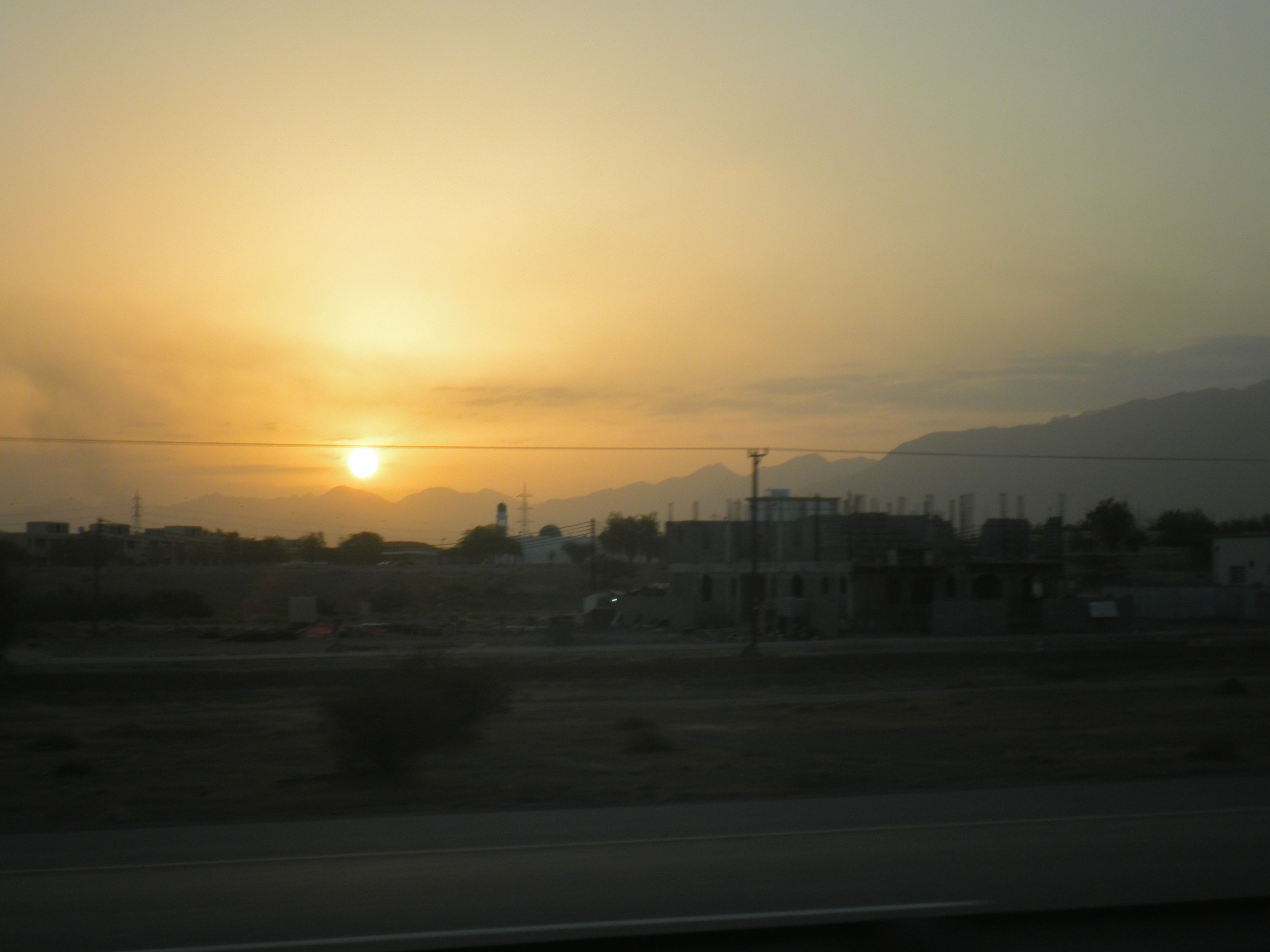 Sunrise in Oman