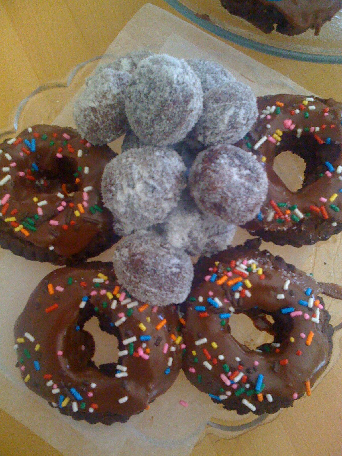 For the love of home made donuts!