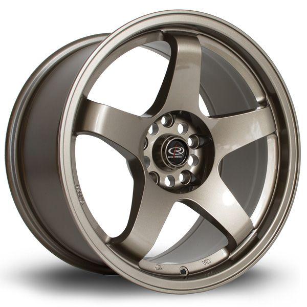 17 ROTA GTR BRONZE 9J 4 stud 25 offset alloy wheels