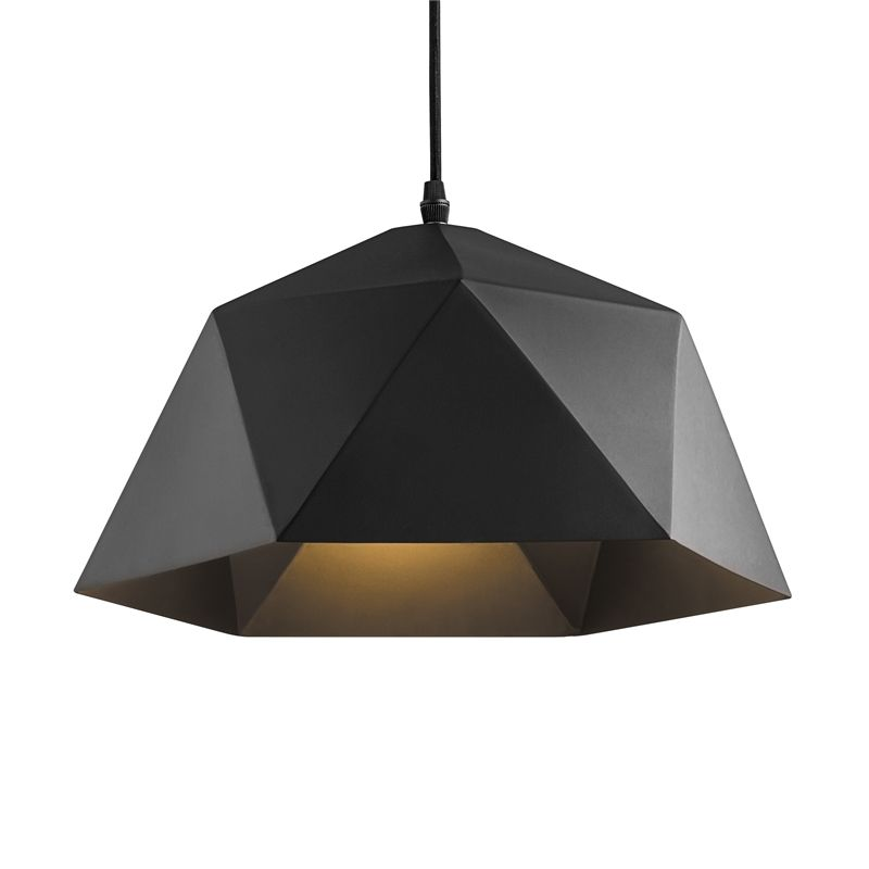 Find Verve Design 40cm Black Argo Pendant At Bunnings Warehouse Visit Your Local Store For The Widest Pendant Light Design Lighting Industrial Pendant Lights
