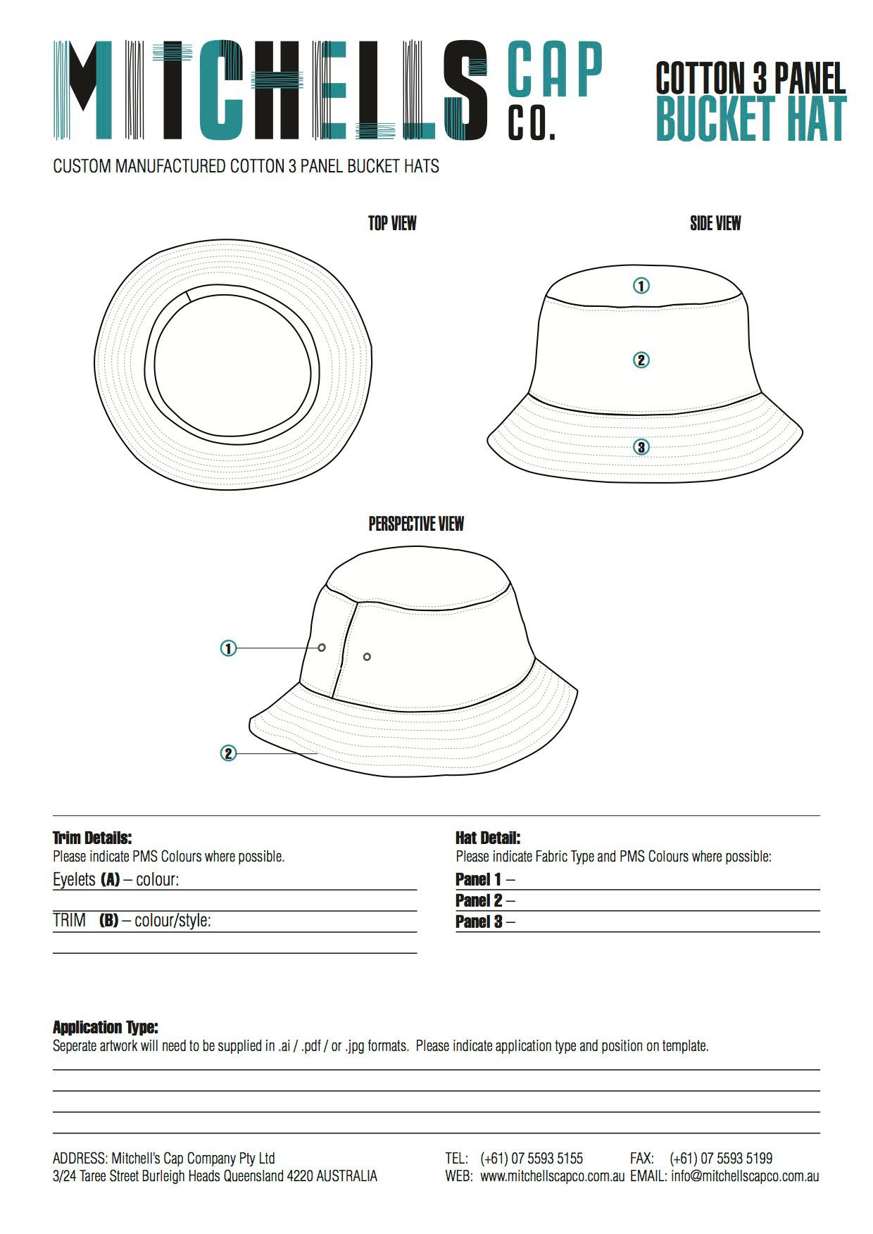 cee100d7a Bucket Hat Template | patrones | Custom bucket hats, Hat template ...