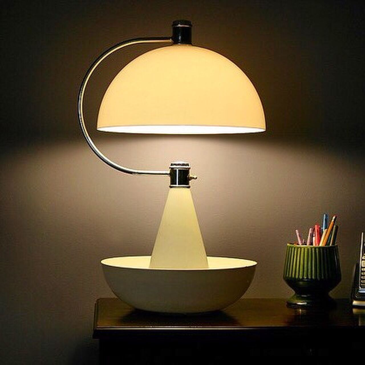Good Night … Timeless Classic Bauhaus Lamp bauhaus