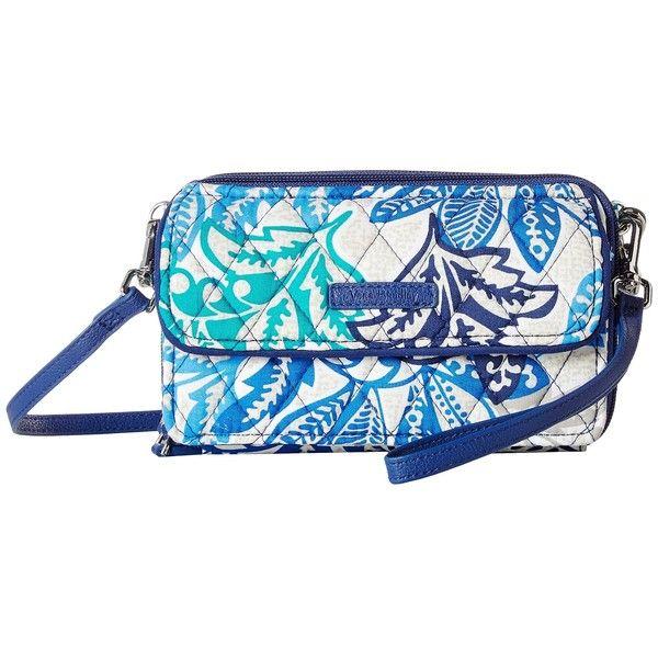 a8f1a3106c80 Vera Bradley RFID All-In-One Crossbody (Santiago) Cross Body Handbags (
