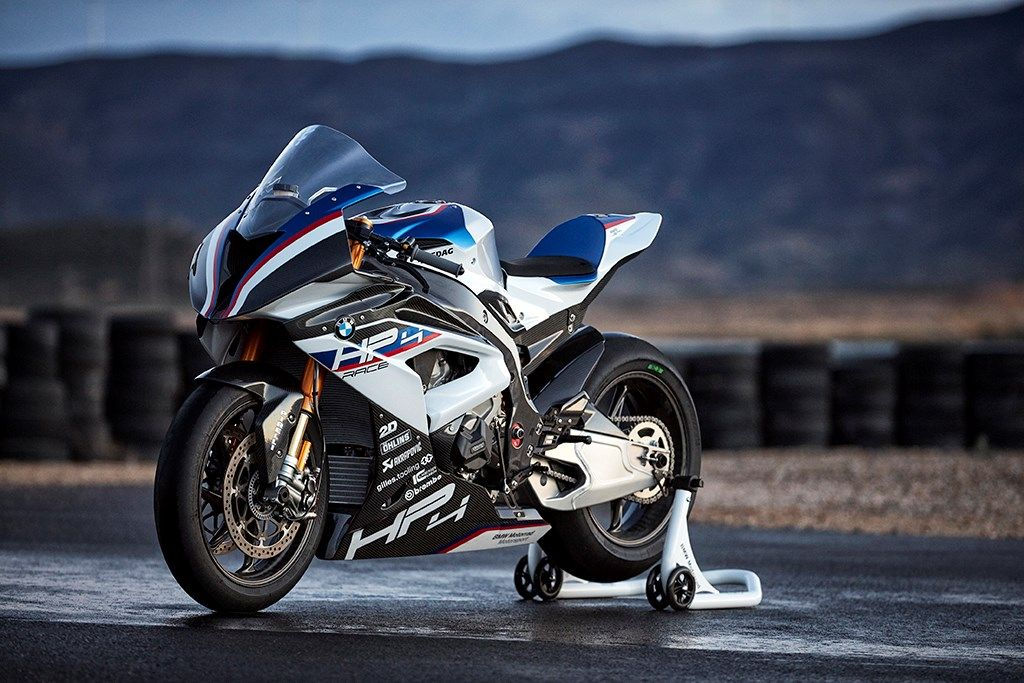 Take Over The Track With The Bmw Hp4 Race Bike Bmw S1000rr