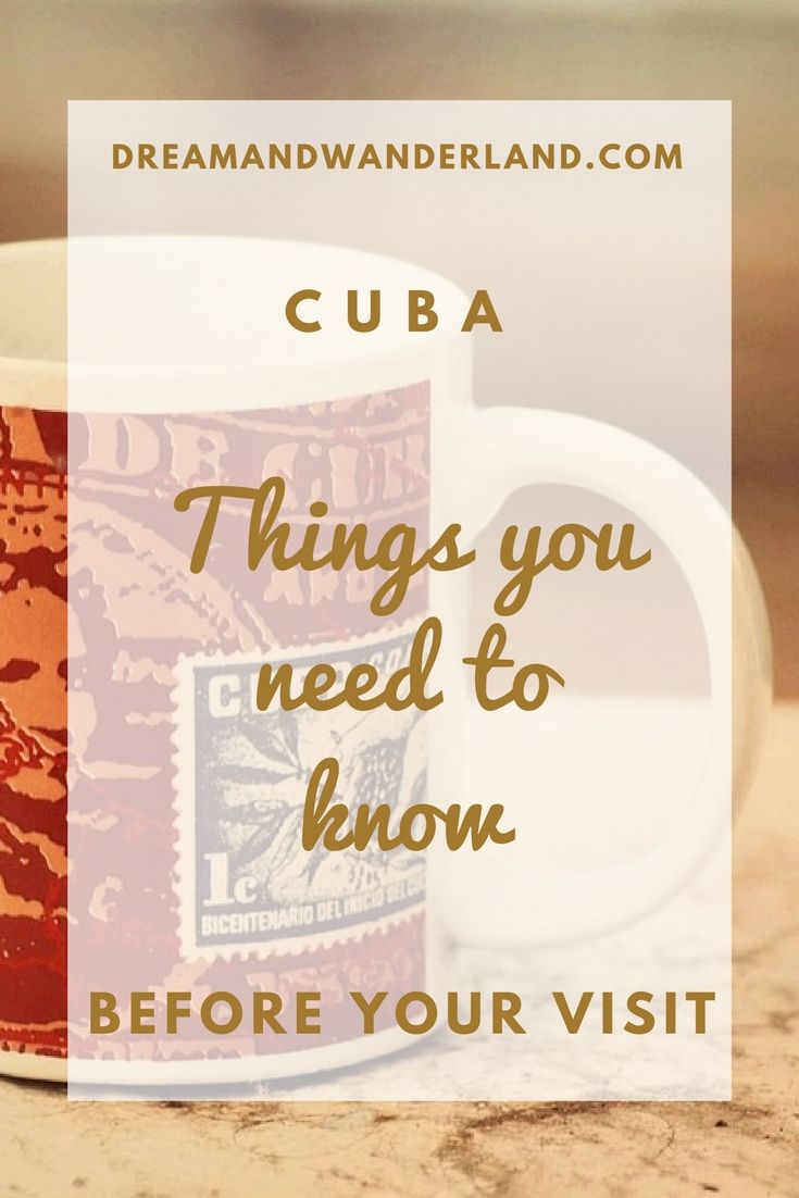 10 essential things you need to know before visiting Cuba #visitcuba