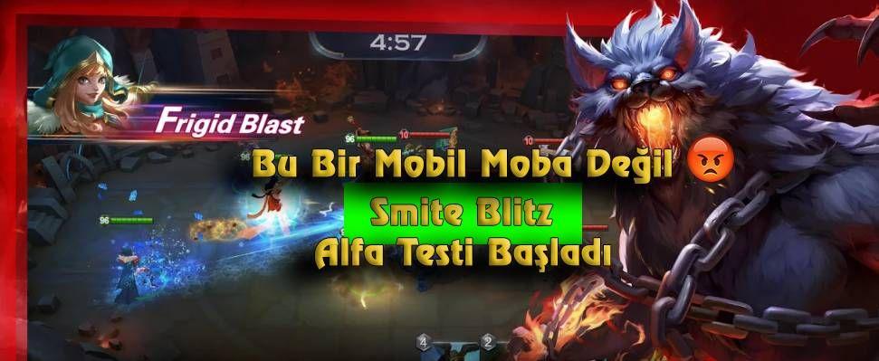 Smite Blitz Test Aşamasına Girdi Ünlü Moba oyunu Smite 'ın mobil