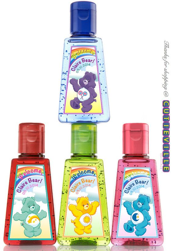 Printable Hand Sanitizer Personalized Label By Cutieville On Etsy