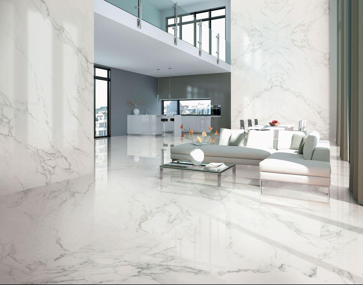 Ava Ceramica Marmi Statuario Floor tile design, Home decor