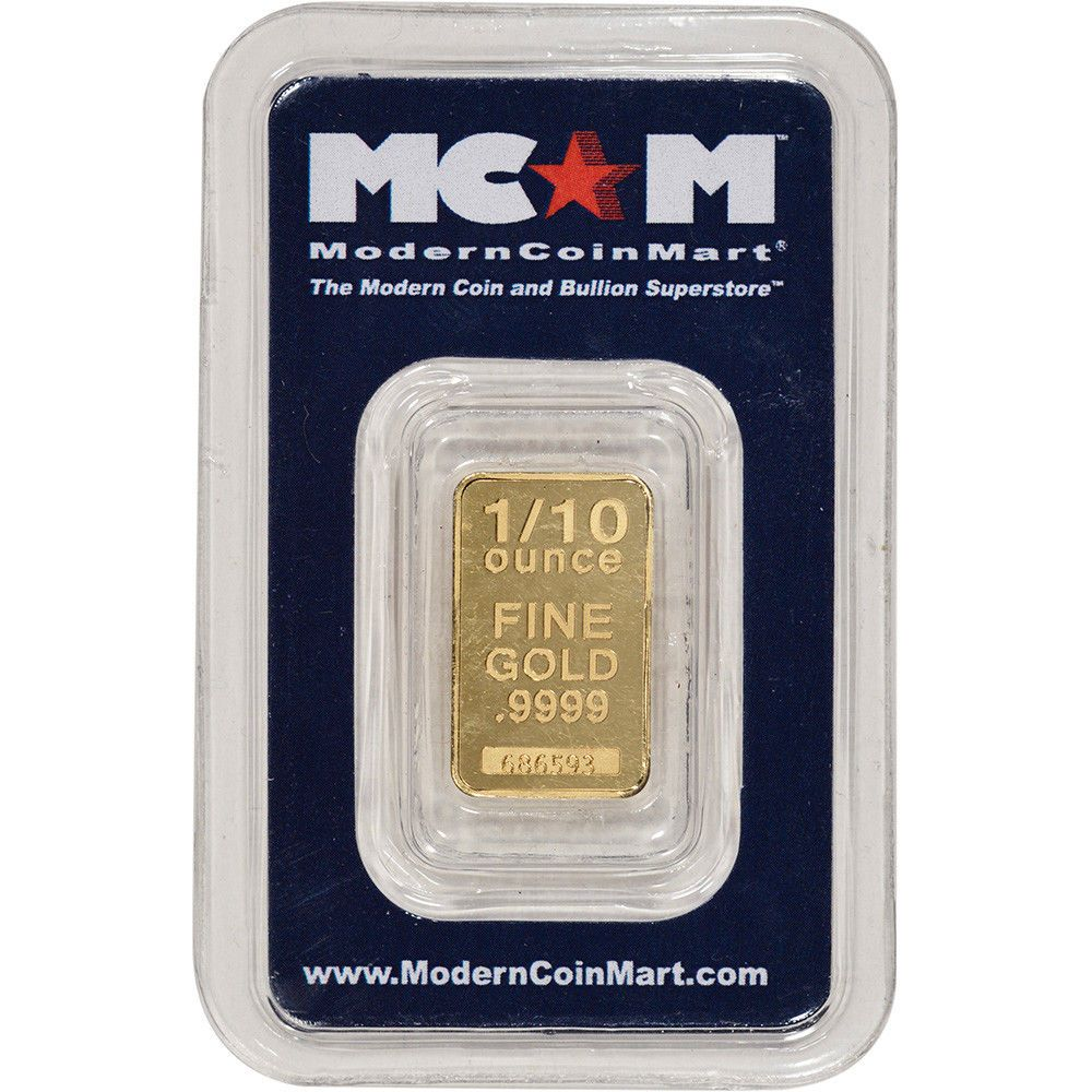 1 10 Oz Gold Bar Mcm 9999 Fine In Assay Gold Bullion Coins Gold Bar Gold Bars For Sale