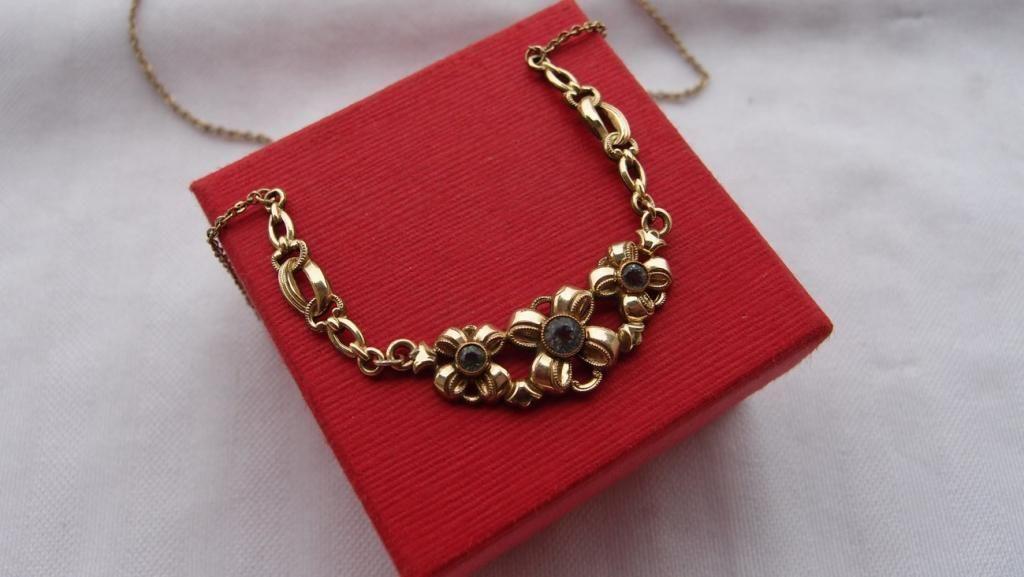 Antyk Naszyjnik Z Akwamarynami Zloto Double 4215922102 Oficjalne Archiwum Allegro Heart Charm Bracelet Heart Charm Tiffany Heart