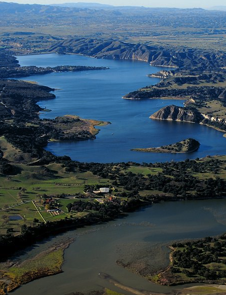 Lake cachuma a reservoir on the santa ynez river santa barbara lake cachuma a reservoir on the santa ynez river santa barbara california by freerunsca Gallery