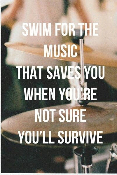 Swim for the music