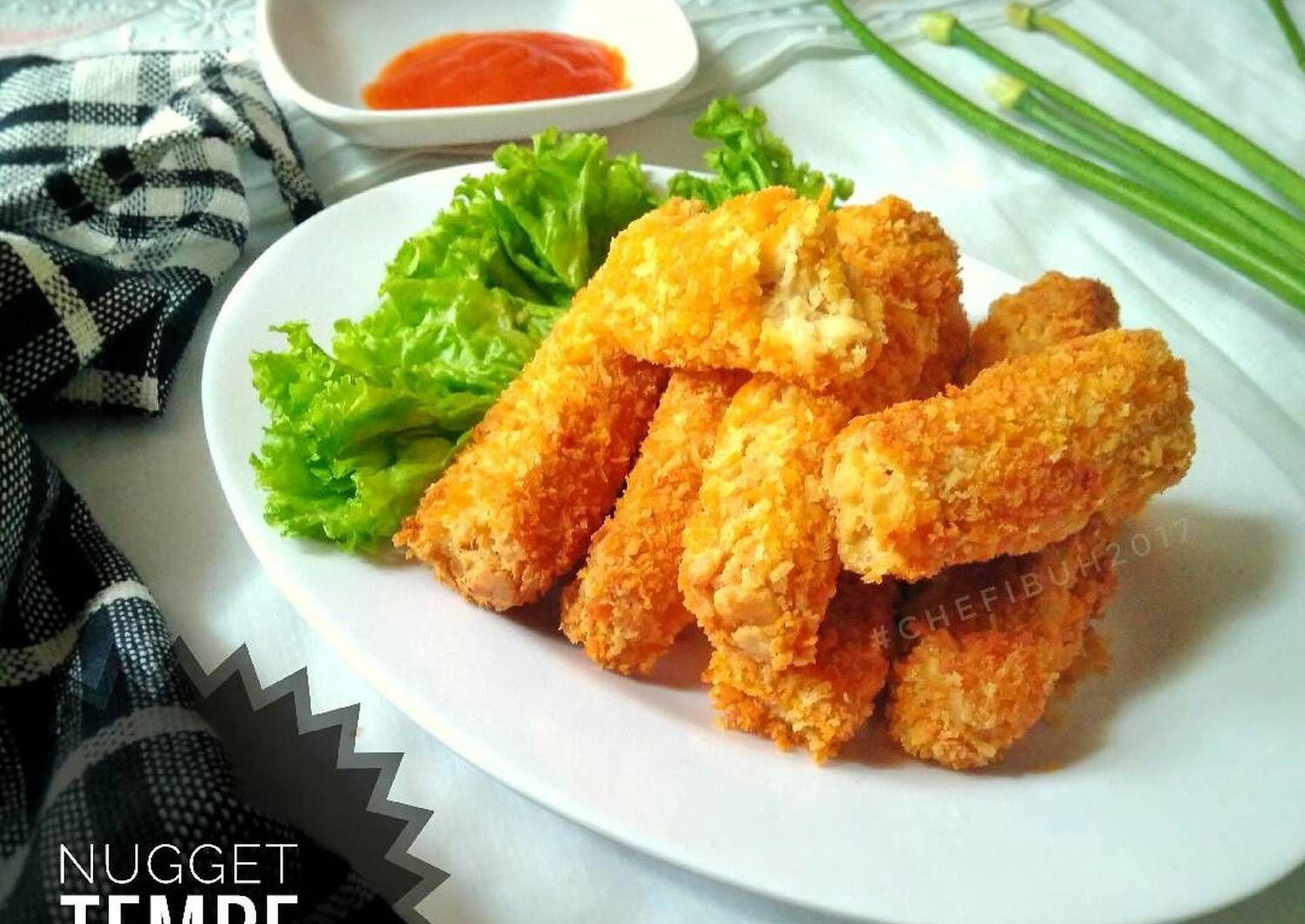 Resep Nugget Tempe Oleh Kikynov Resep Makan Siang Resep Sederhana Makanan Dan Minuman