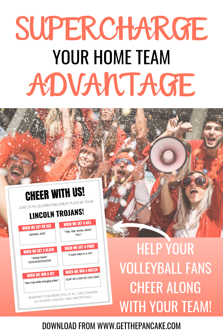 Cheer With Us Fillable Volleyball Cheers Handout With Images Volleyball Cheers Volleyball Coaching Volleyball