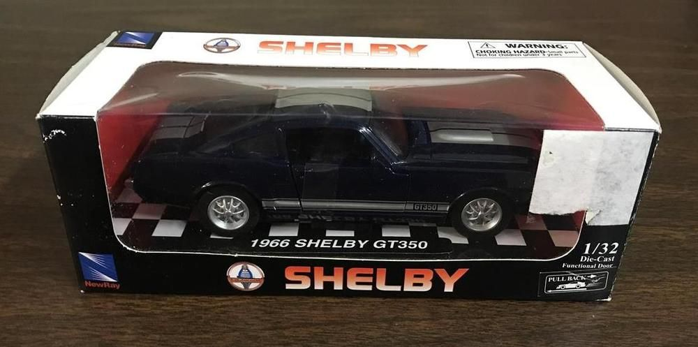 1966 Shelby Ford Mustang Gt350 1 32 Scale Diecast Newray City