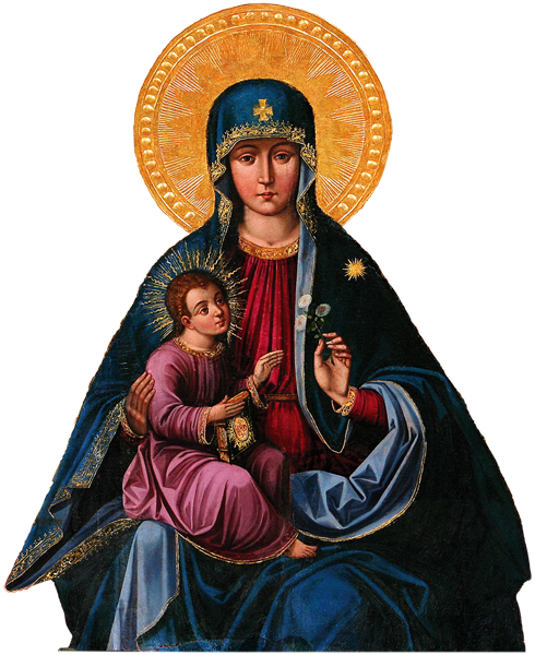The Mother of God of Trakai, patroness of Lithuania.