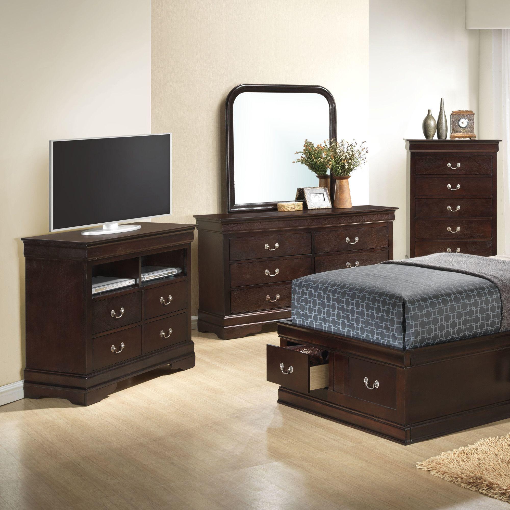 Babcock 4 Drawer Media Chest Bedroom Sets Furniture Bedroom