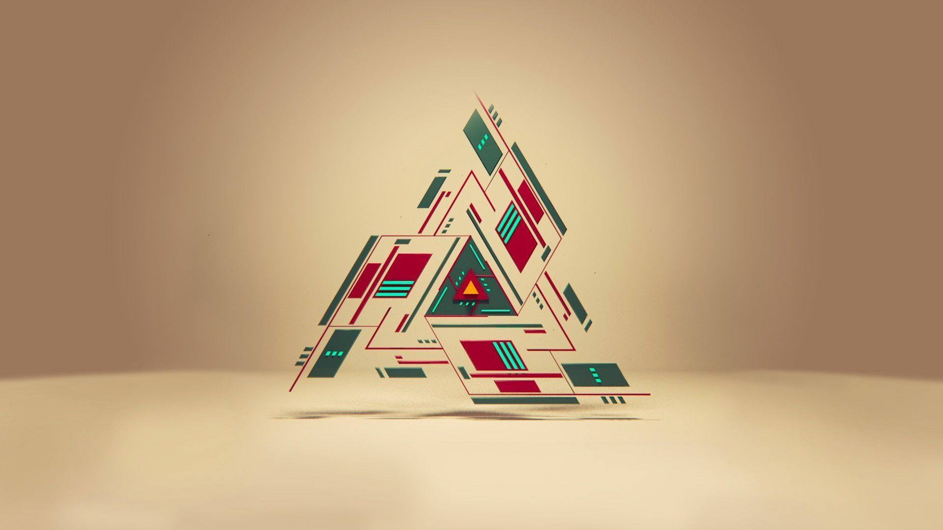Backgrounds Triangle 3d Wallpaper