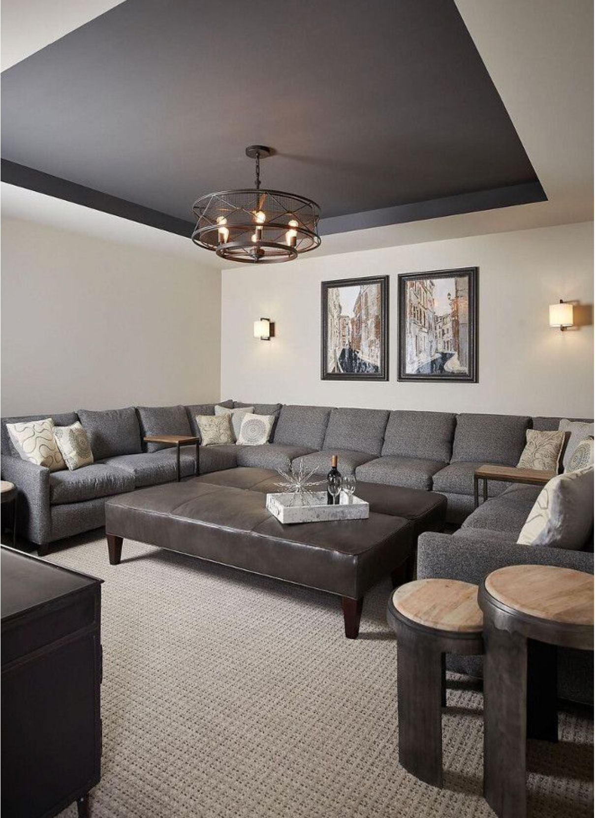 ceiling kendall charcoal wall revere pewter ceiling on basement wall paint colors id=68988