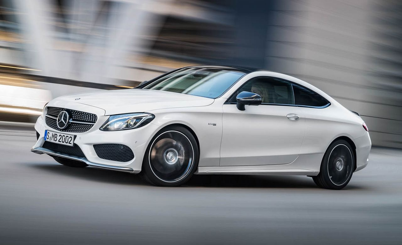 2017 Mercedes Amg C43 Coupe The Bridge Between C300 And C63 Mercedes Benz Amg Mercedes Amg Mercedes Car