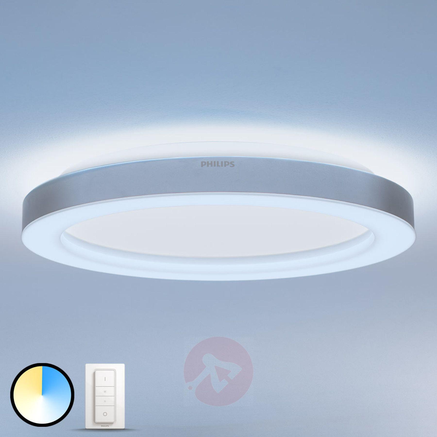 Philips Hue Adore Led Bad Deckenlampe Mit Dimmer 7534068 01 199 99 Deckenlampe Lampen Kaufen Badezimmer Licht
