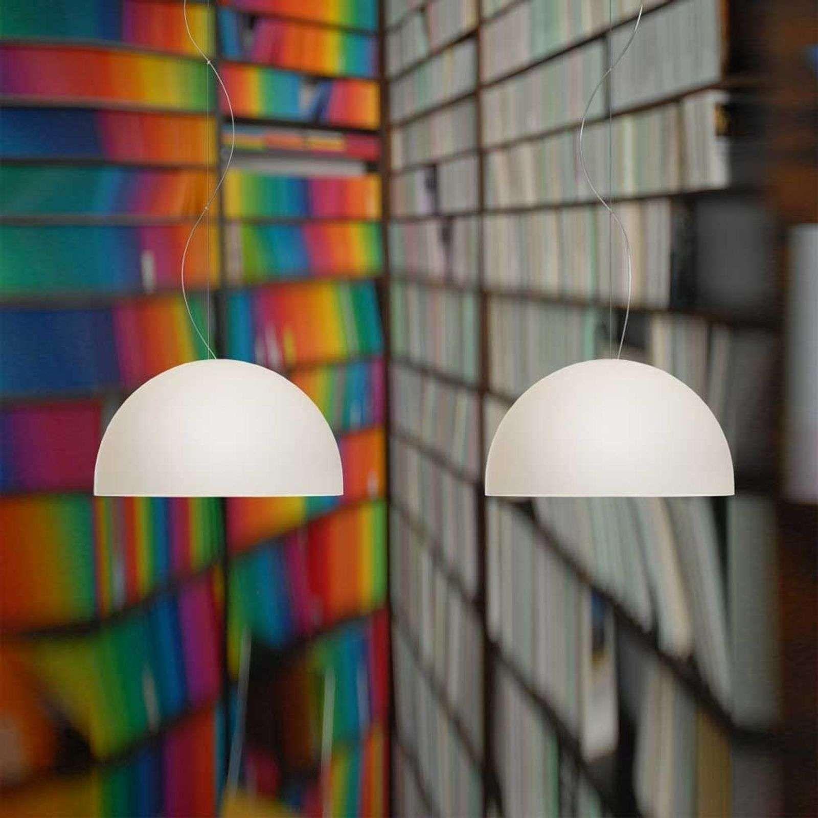 Suspension A 2 Lampes Bowl In 2020 Hanglamp Mondgeblazen Glas Lampenkappen