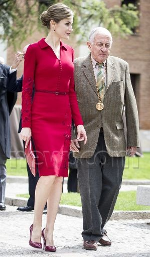 Queen Letizia 23 Apr 2015 - Cervantes Award 2014.